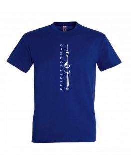 Mėlyni marškinėliai PRIKLAUSOMAS