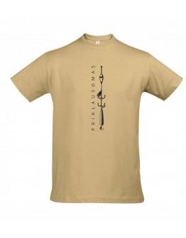Smėliniai marškinėliai PRIKLAUSOMAS