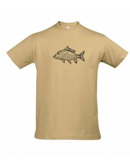 Smėliniai marškinėliai KARPIS