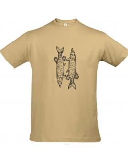 Smėliniai marškinėliai LYDEKA