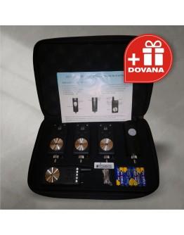 Elektroninis kibimo indikatorius signalizatorius 3+1 + Judesio daviklis + DOVANA