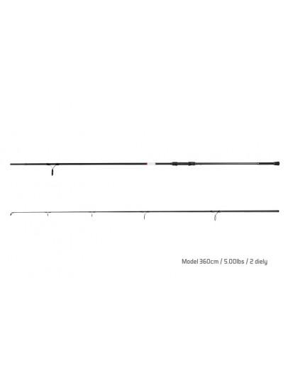 Spod rod Delphin Bomber 12ft 5lb 360cm 2 sec