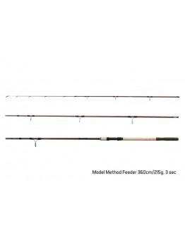 Delphin MAGMA M3 Method feeder+ 5 tips 360cm 215g
