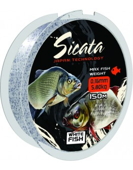 Fishing line Mistrall Sicata WhiteFish 0,22mm 150m