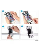Rod phone holder for Deeper