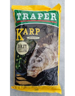 Groundbait Traper Secret Carp Yellow, 1Kg