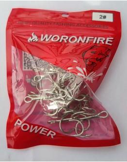 Treble hook Woronfireu #2