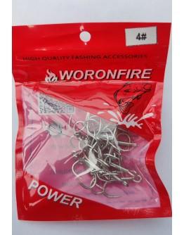 Treble hook Woronfireu #4
