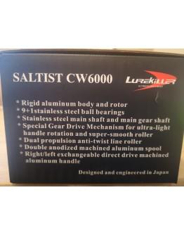Profesionali metalinė ritė spiningui Lurekiller Saltist CW6000